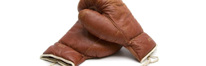 beginner's boxing training